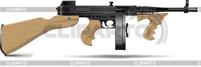 Tommy Gun | Klipart wektorowy |ID 3305351