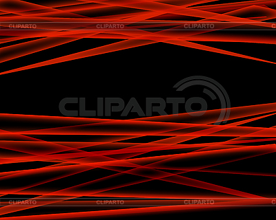 Абстрактный черный фон с цветными волнистыми
