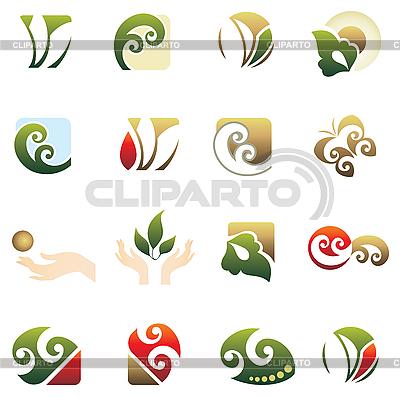 Набор лого Векторный клипарт ID 3088735.