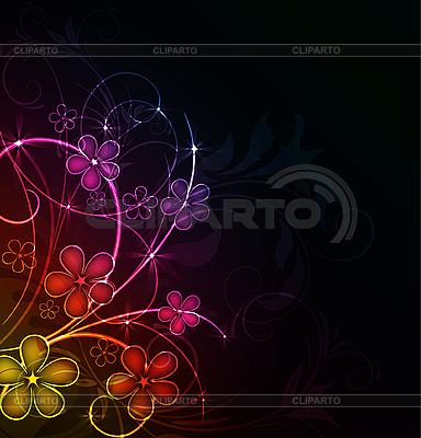 Streszczenie kwiatowy tło | Klipart wektorowy |ID 3087733