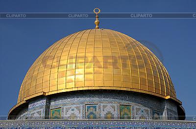 Kopuła na Skale w Jerozolimie | Foto stockowe wysokiej rozdzielczości |ID 3106109