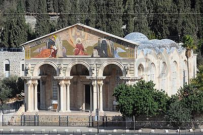 Kościół Wszystkich Narodów w Jerozolimie | Foto stockowe wysokiej rozdzielczości |ID 3106213