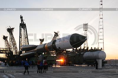 Progress Cargo Spacecraft Elevation | Foto stockowe wysokiej rozdzielczości |ID 3106284
