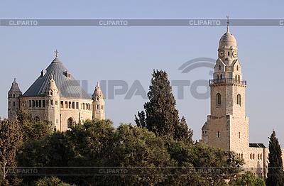 Kościół Zaśnięcia Najświętszej Marii Panny w Jerozolimie | Foto stockowe wysokiej rozdzielczości |ID 3106396