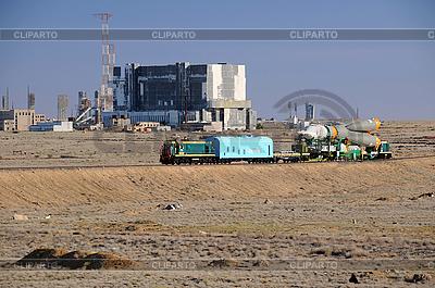 소유즈 로켓 롤아웃 | 높은 해상도 사진 |ID 3119178