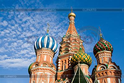 Bazyli katedra w Moskwie | Foto stockowe wysokiej rozdzielczości |ID 3089239