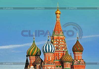 St Basil Katedra w Moskwie. Rosja | Foto stockowe wysokiej rozdzielczości |ID 3170838