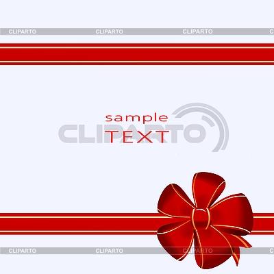 蝴蝶结装饰 | 向量插图 |ID 3085135