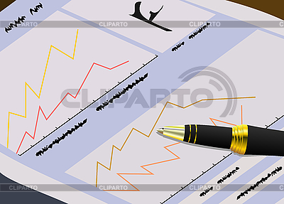 Die Finanzen Zeitung für Händler | Stock Vektorgrafik |ID 3085459