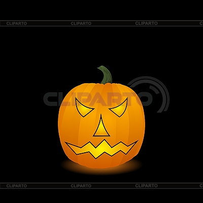 Halloween-Kürbis | Stock Vektorgrafik |ID 3086463