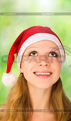 Christmas Dziewczyna | Foto stockowe wysokiej rozdzielczości |ID 3104933