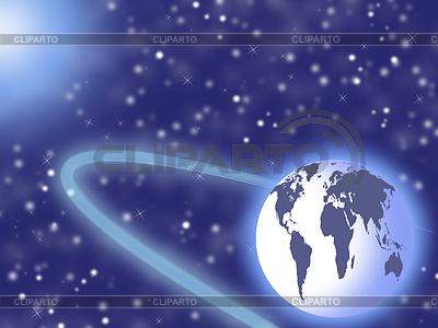 Planety w przestrzeni kosmicznej i gwiazd | Stockowa ilustracja wysokiej rozdzielczości |ID 3278259