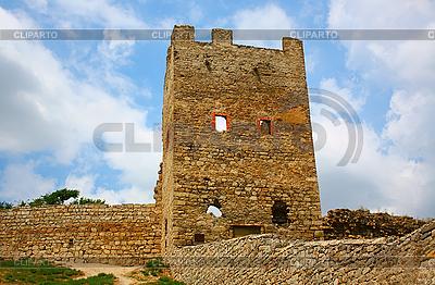 Genueńczyków Forteca w Teodozja | Foto stockowe wysokiej rozdzielczości |ID 3088893
