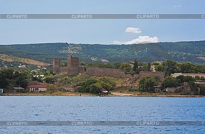 Genueńczyków Forteca w Teodozja | Foto stockowe wysokiej rozdzielczości |ID 3088899