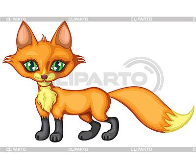 Niedlicher kleiner Fuchs | Stock Vektorgrafik |ID 3113013