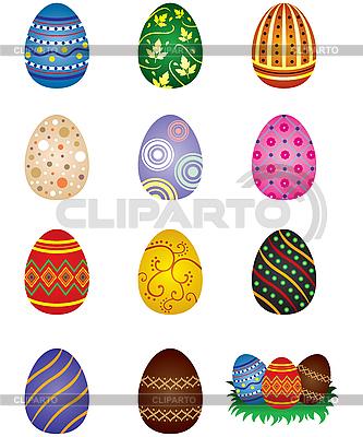 Easter eggs | Klipart wektorowy |ID 3135049