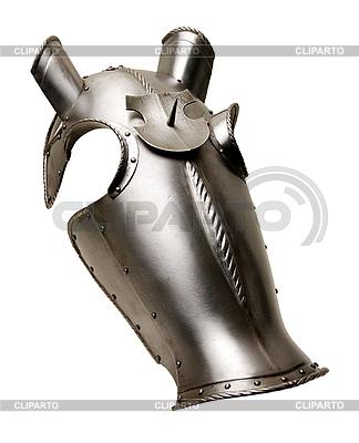 Armour für einen Kopf eines Pferdes der mittelalterlichen Ritter | Foto mit hoher Auflösung |ID 3093474