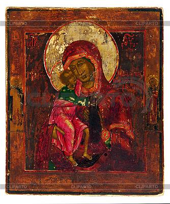 Alte orthodoxe Ikone. | Foto mit hoher Auflösung |ID 3116099