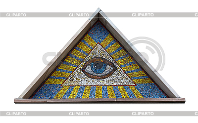 Allsehendes Auge | Foto mit hoher Auflösung |ID 3093534