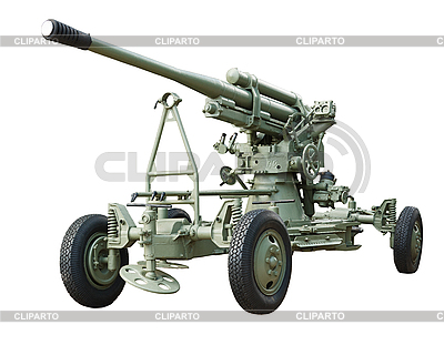 Antiaircraft gun | Foto stockowe wysokiej rozdzielczości |ID 3093572
