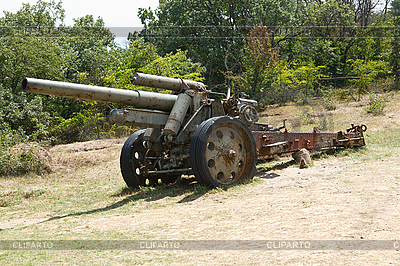 Artillerie-Geschütz | Foto mit hoher Auflösung |ID 3093659