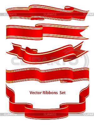 Set von Bändern | Stock Vektorgrafik |ID 3097879