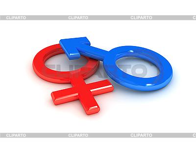 Symbole płci | Stockowa ilustracja wysokiej rozdzielczości |ID 3091935