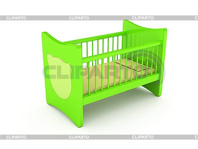 Кроватка для новорожденного | Иллюстрация большого размера |ID 3091961