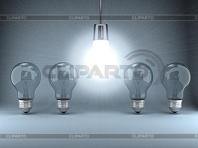 Glühbirnen   Illustration mit hoher Auflösung  ID 3092023
