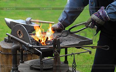 Kowal w pracy | Foto stockowe wysokiej rozdzielczości |ID 3098812