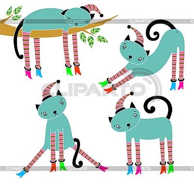 Koty | Stockowa ilustracja wysokiej rozdzielczości |ID 3093002