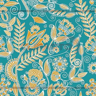 Nahtloser Blumen-Hintergrund | Stock Vektorgrafik |ID 3093716