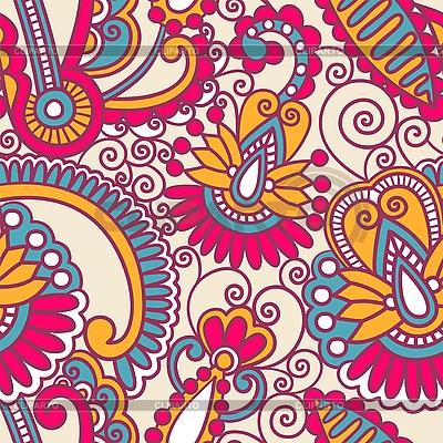 Bezszwowych kwiatów ozdobnych wzorów | Klipart wektorowy |ID 3094419