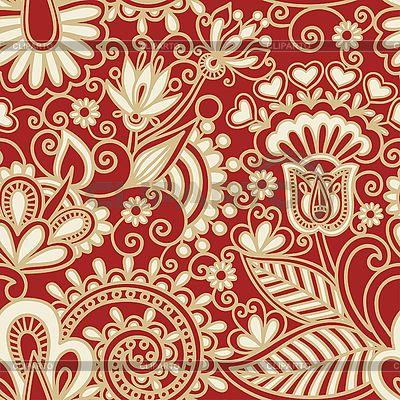 Geziertes nahtloses Muster | Stock Vektorgrafik |ID 3094848