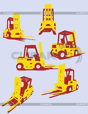 Maszyny drogowe | Klipart wektorowy |ID 3093793