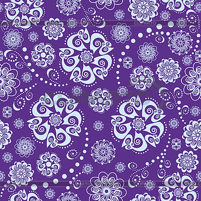 Floral oriental szwu | Klipart wektorowy |ID 3124422