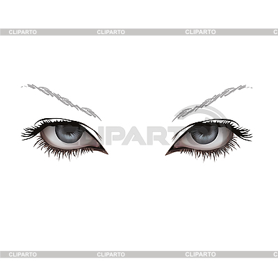 Frauen-Augen | Stock Vektorgrafik |ID 3095708