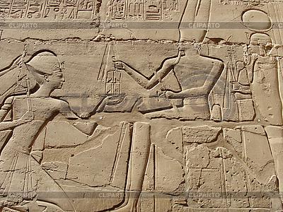 Древние египетские иероглифы и рисунки | Фото большого размера |ID 3095829