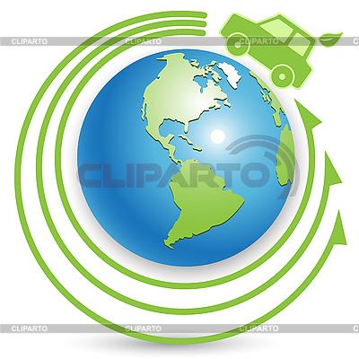 Bio-Auto | Stock Vektorgrafik |ID 3095961
