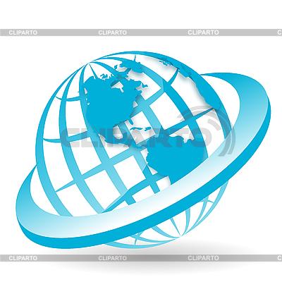 Земной шар | Векторный клипарт |ID 3099520