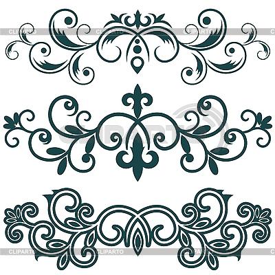 Ornamentale Muster | Stock Vektorgrafik |ID 3137407