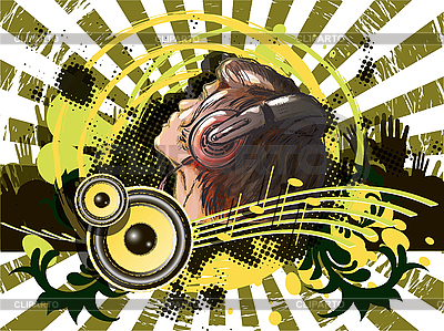 Plakat muzyka | Klipart wektorowy |ID 3144565