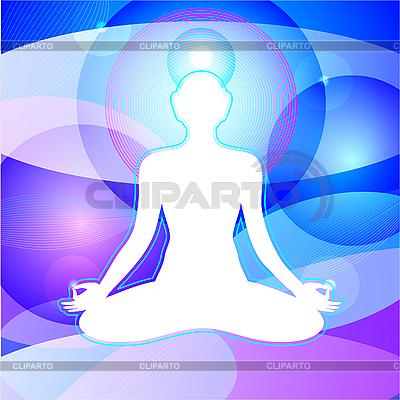Медитация | Иллюстрация большого размера |ID 3099614