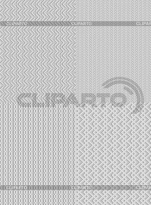 Vier Hintergründe-Muster | Stock Vektorgrafik |ID 3100052