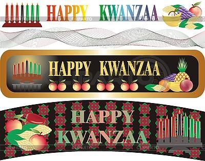 Kwanzaa banery | Foto stockowe wysokiej rozdzielczości |ID 3102320