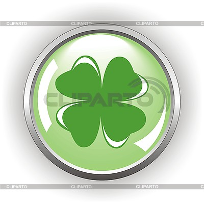 Quadrifolium-Taste für St Patrick Tag | Stock Vektorgrafik |ID 3107495