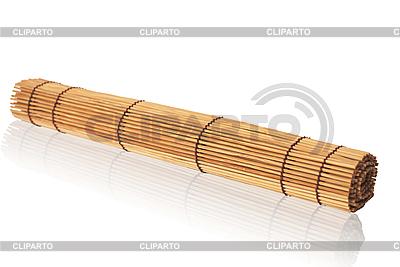 Gerollte Bambusmatte | Foto mit hoher Auflösung |ID 3115492