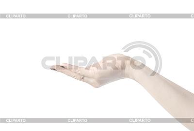 null hand verloren