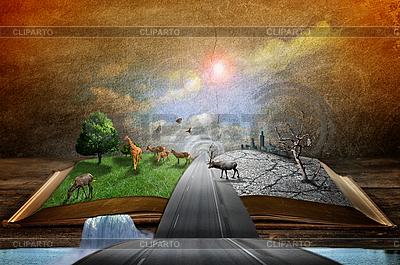 Старая книга магии Фото большого размера ID 3182239.