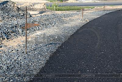 Budowa drogi | Foto stockowe wysokiej rozdzielczości |ID 3104723